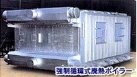 【Heat Exchanger】 Forced circulation waste heat boiler