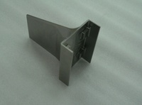Pure Titanium, Complex Shape, Four Spot Boss Flatness 0.05, Edge Thickness 2.5±0.2