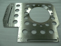 [Quick delivery possible] processing of center-cut SUS304 stainless steel plate parts up to flatness of 30 microns.