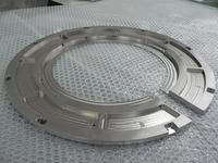 Precision-round cutting of stainless steel electronic components