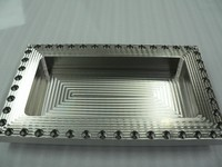Jigubora precision machining distortion stainless plate corrosion resistance for medical and food industry