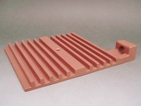 Heat Sink, Complex Shapes Casting, Pure Copper, High-Purity, High-Heat Conductivity, Near Net Shape
