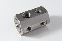 Joint , AC parts [SUS304] Angle and tapered thread burrs