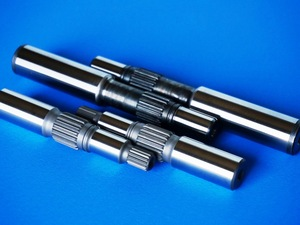 Spline, Heat Treatment, Automobile Parts > Pump Drive Shaft