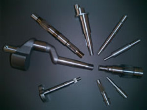 We can handle development and prototypes of single high-precision shafts as well as mass production of 10,000 units.