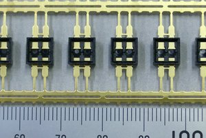 DIP Slide Switch Housing 【Insert Molding・Automated Manufacturing】