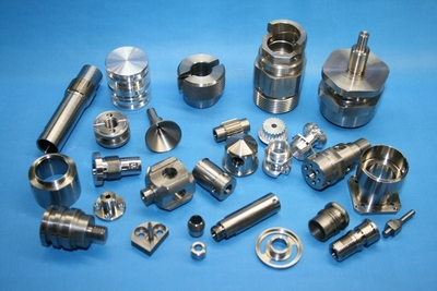 Complex NC lathe machined parts