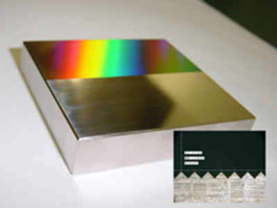 Prism grooving using ultra-fine machining technology