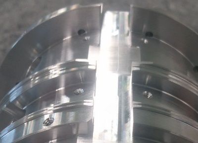 Optical components Aluminum Supports complex shape tolerances