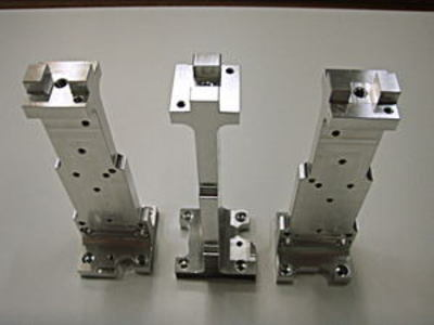 Aluminum machined products; single-product, small-volume/mixed-lot production; speed top priority