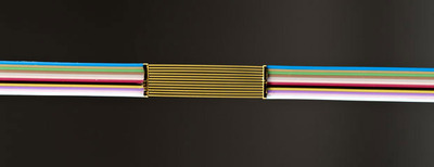 The reliability of optical fiber's plating is guaranteed