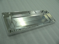 Aluminum processing parts for medical equipment