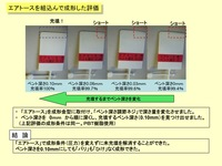 [The measure to Short shot] The measures to incomplete filling on injection molding [PBT]: The use example of Air-tosu