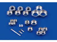 Partial silver plating for stainless steel