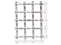 Locked crimp woven metal net ; Steel ; Construction