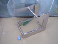 Frame welding structure of inspection devices (SUS304/buff grinding)