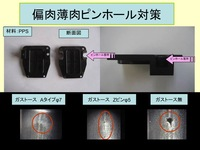 [PPS] The measures to uneven-walls thickness, thin-wall and pinhole: The use example of Gs-tosu