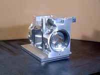 Aluminum Vacuum Chamber (grinded product)
