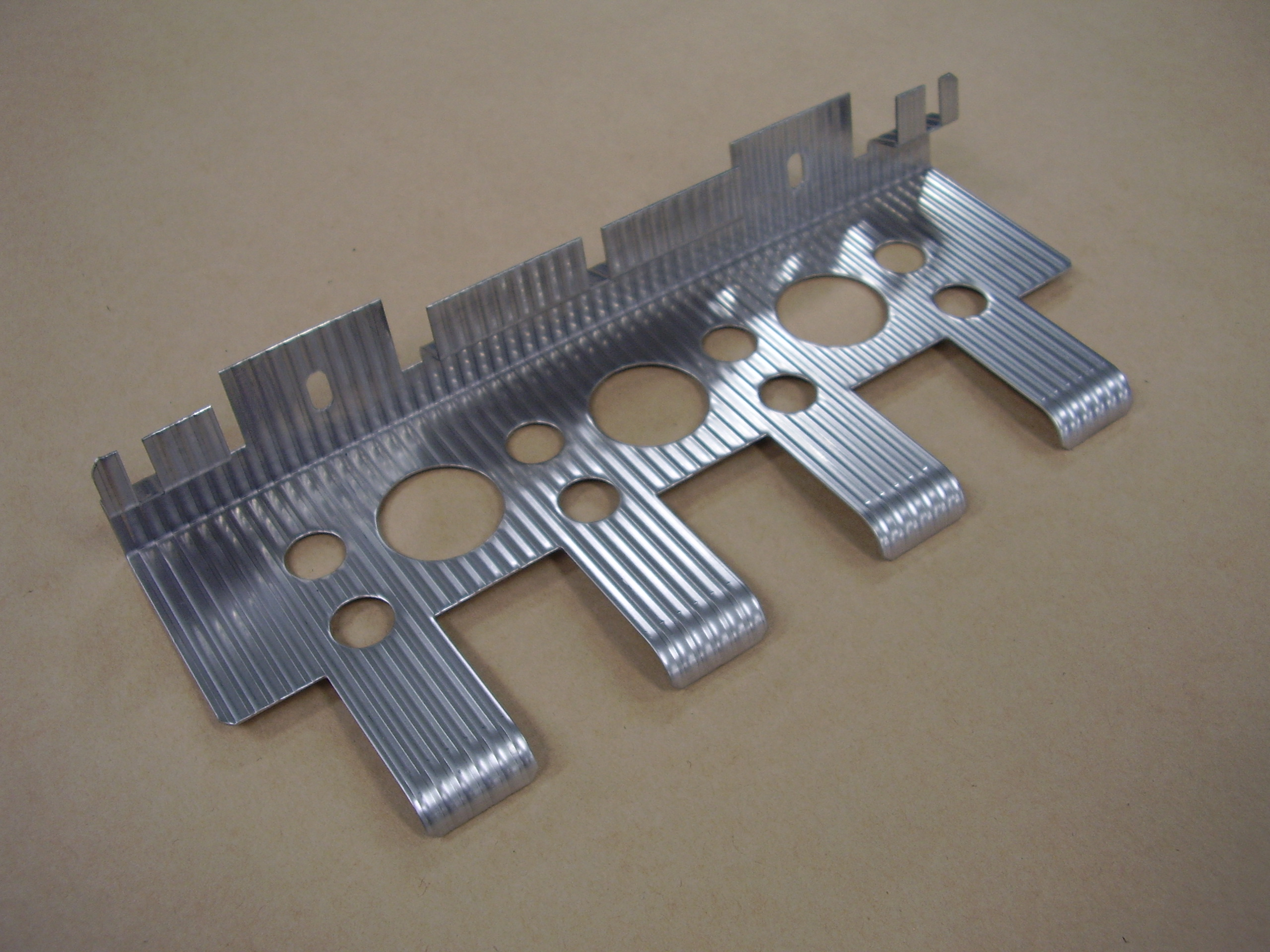 Procurement and Processing (SUS304) of Stainless Steel Emboss Materials (corrugated plate)