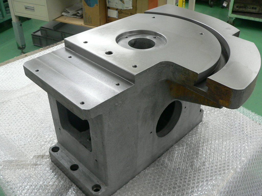 Processing of casted parts